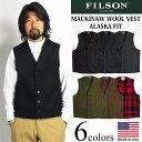 フィルソン FILSON マッキーノ ウール ベスト (アメリカ製 米国製 MACKINAW WOOL VEST)