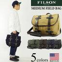 フィルソン FILSON ショルダーバック ミディアム フィールド バッグ (米国製 MEDIUM FIELD BAG ショルダーバッグ)