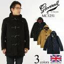 グローバーオール GLOVERALL MC3251 ミッドレングス ダッフルコート 防寒 英国製 メンズ ハーフ ショート | イングラ…