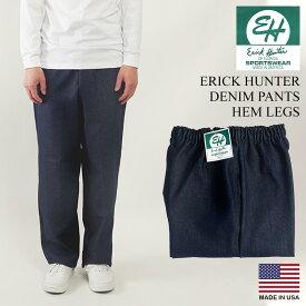 クラークス スポーツウエア(エリックハンター) デニムイージーパンツ(アメリカ製 米国製 バギーパンツ CLARK'S ERICK HUNTER)