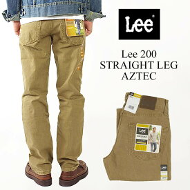 リー Lee #200 ストレート ジーンズ アズテック(父の日 STRAIGHT LEG JEAN AZTEC)
