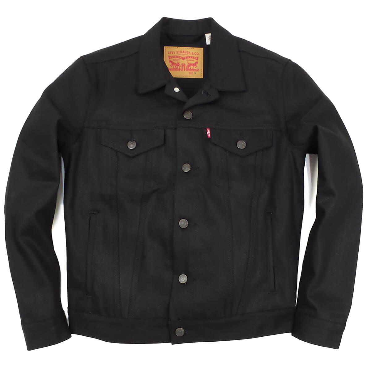 リーバイス LEVI'S #72334 デニムジャケット ザ・トラッカー ポリッシュド ブラック(THE TRUCKER 3RD ジージャン)