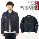 リーバイス LEVI'S #72334 デニムジャケット ザ・トラッカー リジッド2(父の日 ジャケット THE TRUCKER 3RD ジージャ…