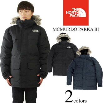 e19190b0c North Face THE NORTH FACE Mackmurdo parka 3 (non-release MCMURDO PARKA III  down jacket parka cold protection in Japan)