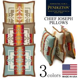 ペンドルトン PENDLETON チーフジョセフ ピロー(ウール クッション 枕 ネイティブ柄 アメリカ製 米国製)