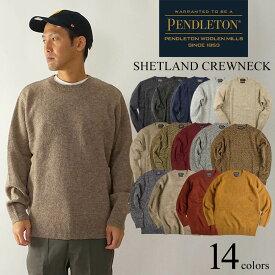 ペンドルトン PENDLETON ウール セーター シェットランド クルーネック(シェットランド CREWNECK)