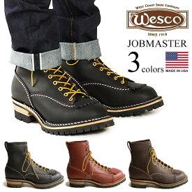 """ウェスコ Wesco #108100 ワークブーツ ジョブマスター 8"""" (ウエスコ アメリカ製 米国製 Jobmaster 8"""" Lace-to-toe)"""