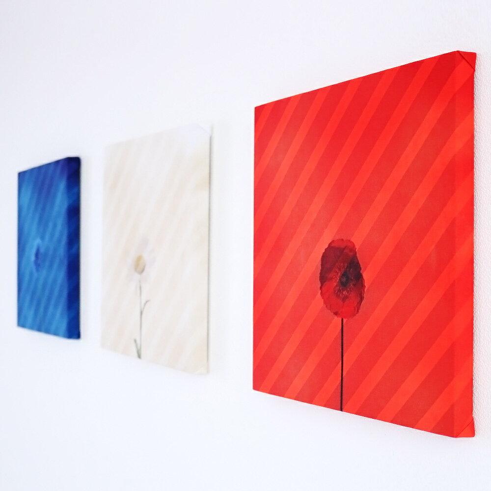 trico-fleur(トリコ-フルール) 3連ファブリックパネル 北欧 お洒落ファブリックパネル Japan Modern Collection インテリア アートパネル