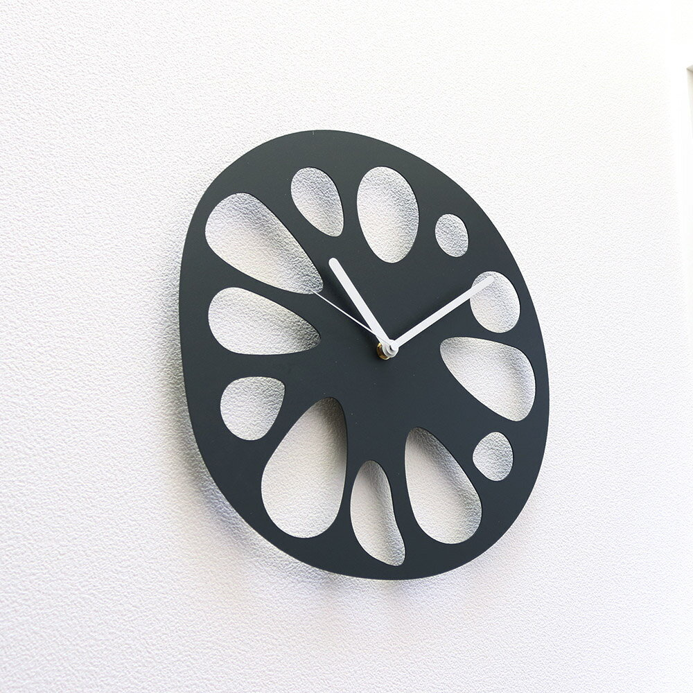 【SALE】掛け時計 壁掛け時計 デザイナーズRoot time 北欧 おしゃれ モノトーン