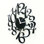 【送料無料】【あす楽】mellifluousTIMEデザイナーズオリジナル|壁掛け時計|掛け時計|クロック|インテリア雑貨|スチール|デザイン|掛時計|おしゃれ|お洒落[デザイン性豊かなスチール製のモダン壁掛け時計]