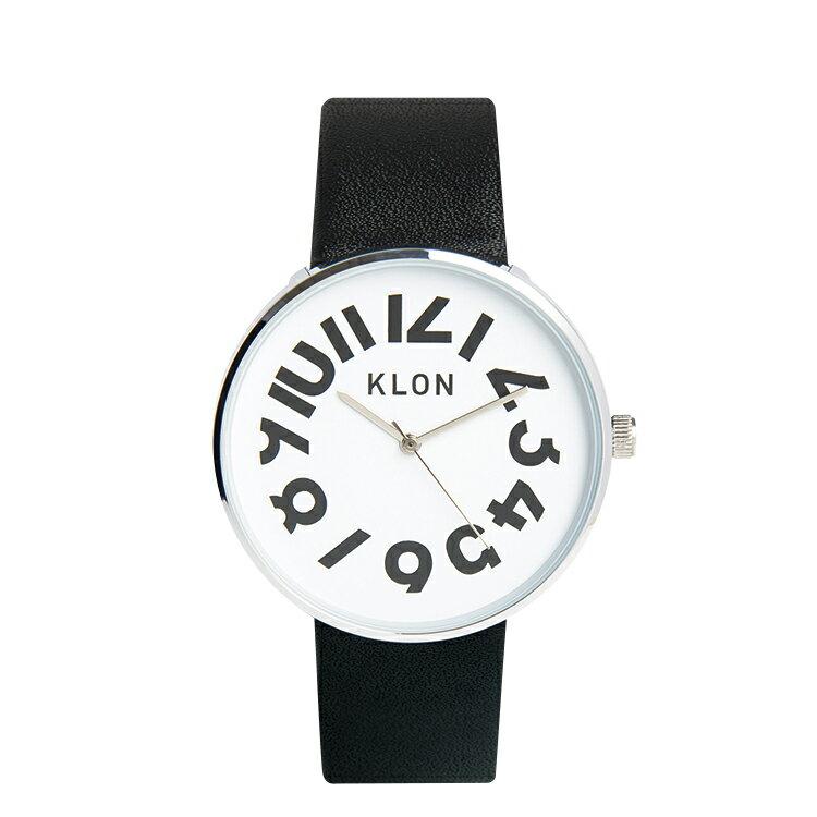 KLON 腕時計 HIDETIMEクローン おしゃれ本革ユニセックスモノトーン