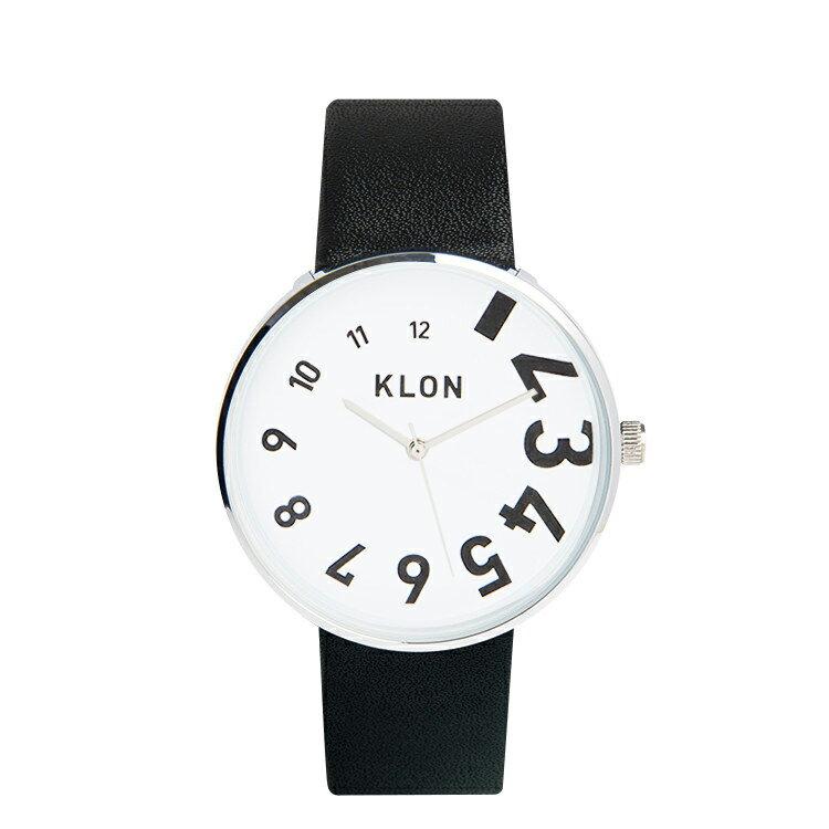 KLON 腕時計 EDDY TIME THE WATCHクローン おしゃれ本革ユニセックスモノトーン