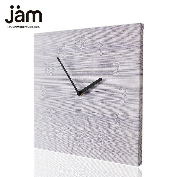 【全品P10倍】cloudy ファブリックパネル 掛け時計 壁掛け時計 北欧 置時計 ファブリック時計