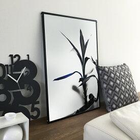 BLUE FOLIUM アート ポスター B2 サイズ デザイン おしゃれ 日本製 パネル インテリア ポスター ウォールアート 北欧 デザイン 飾り ギフト 壁掛け リビング 一人暮らし モノトーン シンプル ※フレーム別売り