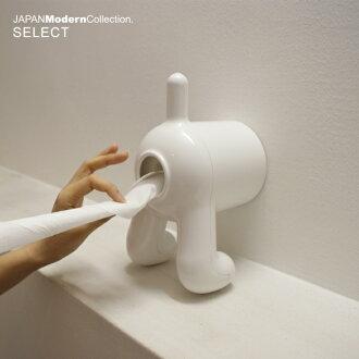 D.DOG 组织用卷纸架有趣的小玩意 | 卫生纸罩子 | 厕纸架 | 卫生纸架 | 纸架