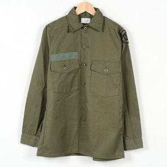 有交货美军实际上的物品U.S.ARMY USA制造军事徽章滞销商品81年的实用程序衬衫人S复古SELMA APPAREL CORPORATION/wei0998 150715