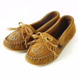 迷妮唐卡莫卡辛鞋女子 24.0 釐米 Minnetonka /boi0200 151213