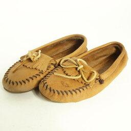 迷妮唐卡莫卡辛鞋婦女 23.0 釐米 Minnetonka /boi9674 160622