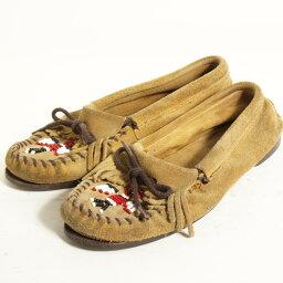 迷妮唐卡莫卡辛鞋女子 7 24.0 釐米 Minnetonka /boj3316 160716