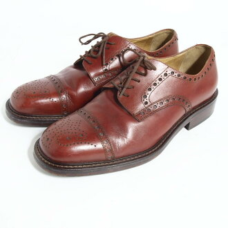 在意大利 DUTEM 翼尖鞋 42 男子 26.5 厘米/boj2008 160831