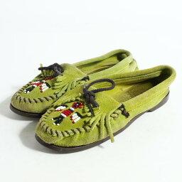 迷妮唐卡莫卡辛鞋女子 7 24.0 釐米 Minnetonka /bok3528