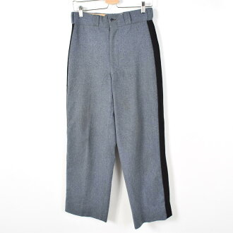 60年代美军实际上的物品一侧章旁边线羊毛裤子裤子人w29复古IRVING L,WILSON COMPANY/wey5923