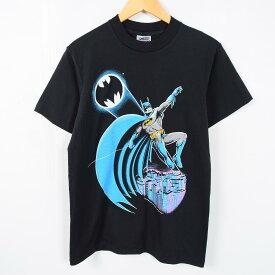 80年代 オニータ BATMAN バットマン USA製 キャラクタープリントTシャツ メンズM ヴィンテージ ONEITA /wae8538 【中古】 【170427】【PD1804-5】【SS1806】【SS1903】【SS1906】【SS1907】