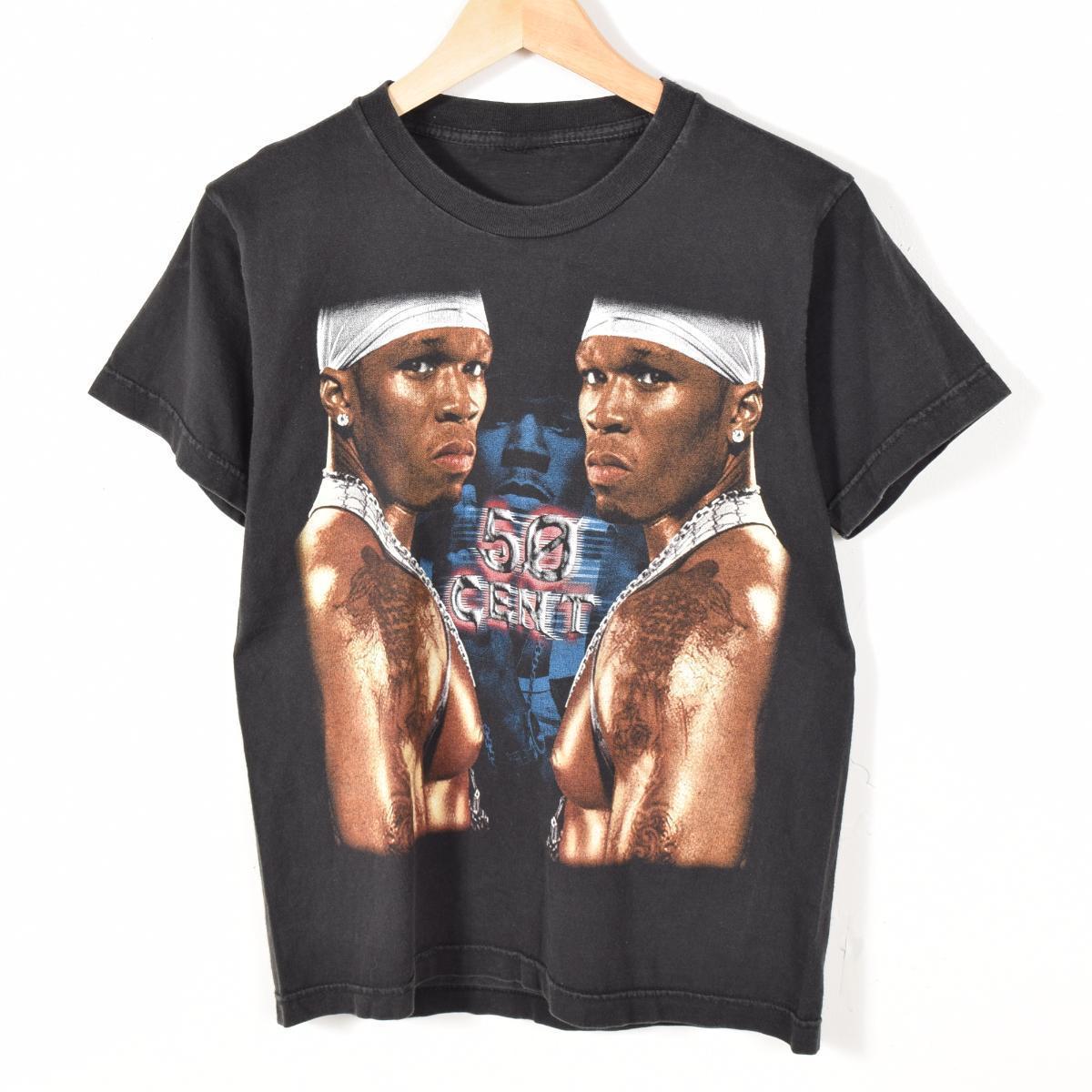50CENT 50セント バンドTシャツ メンズS /wad7595 【中古】【n1706】 【170608】