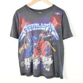 90年代 METALLICA メタリカ Wherever I May Roam マルチプリント バンドTシャツ メンズS /wad7525 【中古】【n1706】 【170609】【SS1903】