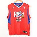 アディダス adidas NBA Philadelphia 76ers フィラデルフィアセブンティシクサーズ Elton Brand エルトンブランド ゲ…