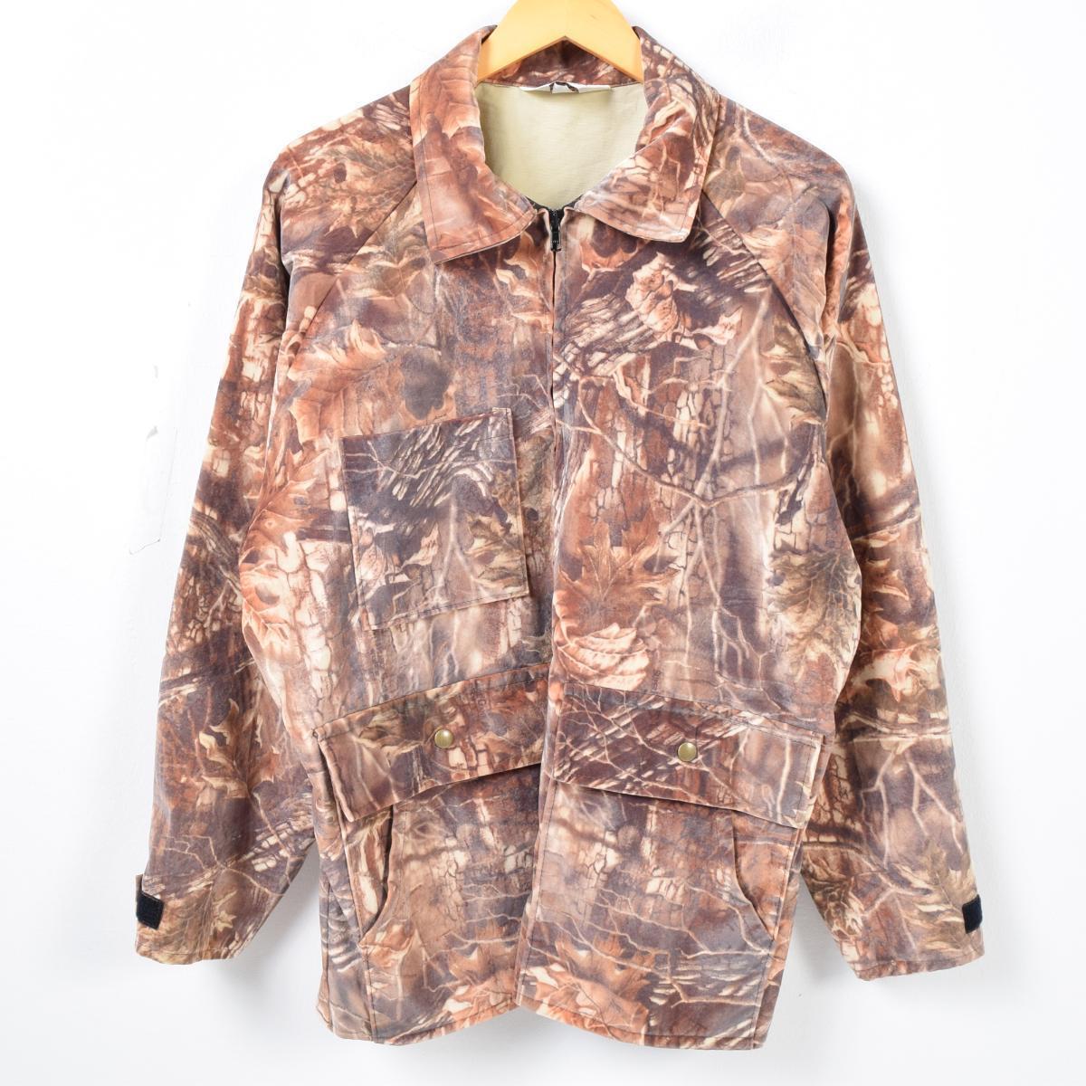 USA製 リアルツリーカモ ハンティングジャケット メンズL Clarkfield OUTDOORS /waj6214 【中古】 【171024】【SS1903】