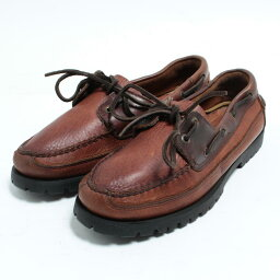 Sperry Corp.最高層汽水SPERRY TOP-SIDER甲板鞋8.5M人26.5cm/boj8524