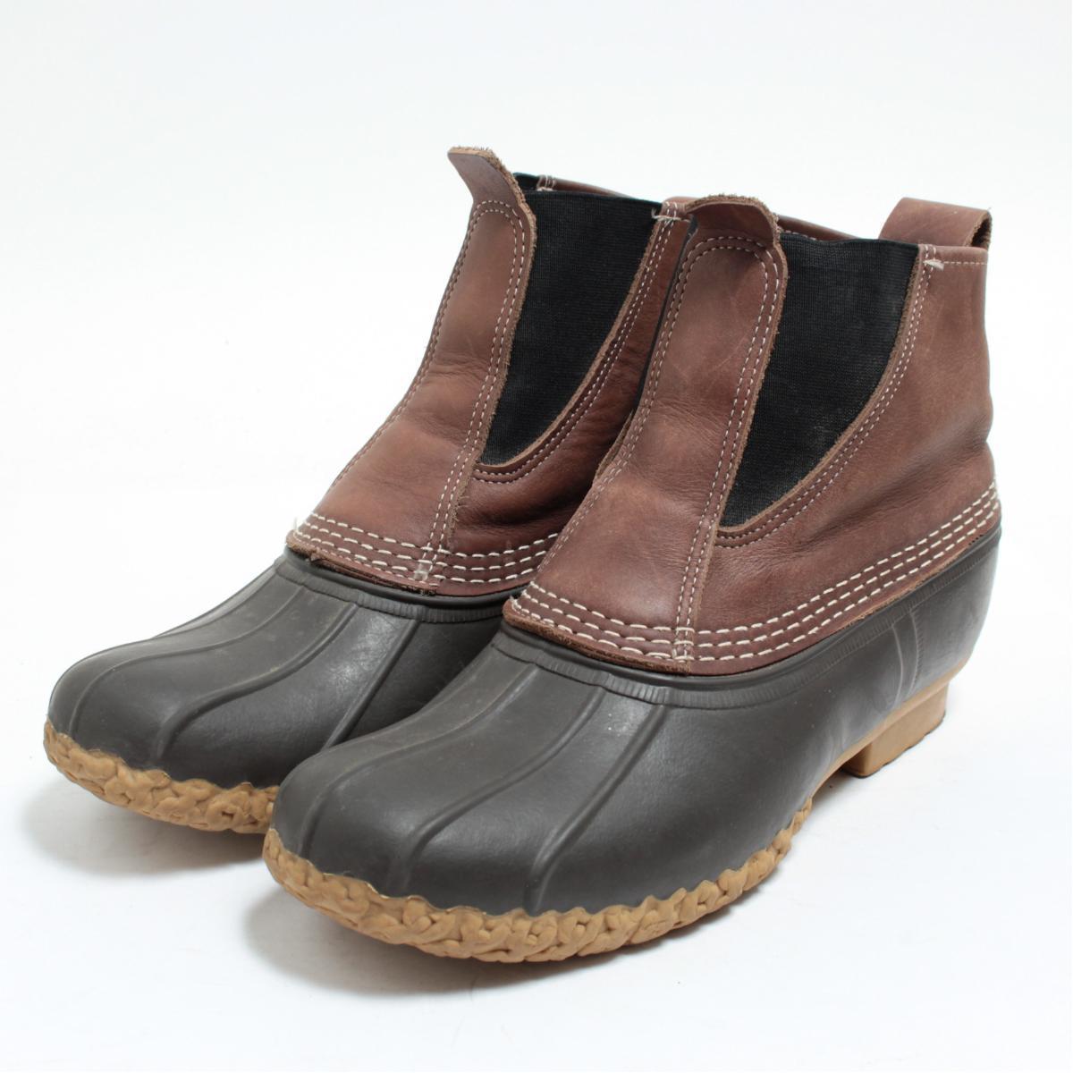 エルエルビーン L.L.Bean サイドゴア ビーンブーツ ハンティングブーツ USA製 メンズ27.0cm /boj7818 【中古】 【171123】