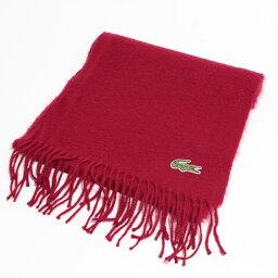 拉科斯特LACOSTE一點標識羊毛×羊絨圍巾英國製造/anb4672