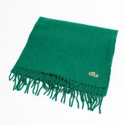 70年代拉科斯特LACOSTE CHEMISE法式拉科斯特一點標識羊毛圍巾復古/anb7505