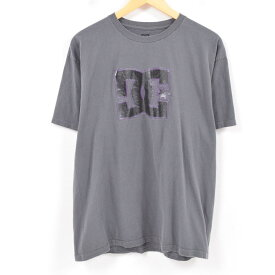 DC SHOES サーフ スケートTシャツ メンズL /wap1196 【中古】【古着屋JAM】 【180311】【SS1909】【PD191018】