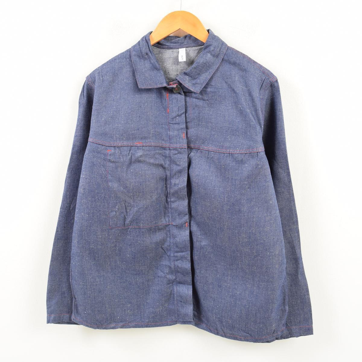 デニム ユーロワークジャケット メンズS /wan5213 【中古】 【180325】【SP10】