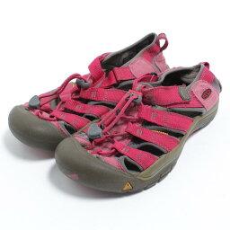 基恩KEEN運動戶外涼鞋US4女士22.5cm/bom4503[中古][舊衣店JAM][180413][SS1807]