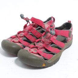 基恩KEEN運動戶外涼鞋US4女士22.5cm/bom3864[中古][舊衣店JAM][180415][SS1807]