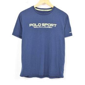ラルフローレン Ralph Lauren POLO SPORT ポロスポーツ ロゴTシャツ メンズS /war8490 【中古】【古着屋JAM】 【180430】【PD1806】【SS1906】【SS1907】