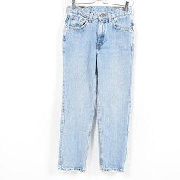 90年代李維斯Levis 512 SLIM FIT STRAIGHT LEG牛仔褲牛仔褲女士L(w28)/war8835