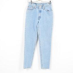 90年代李維斯Levis 512 SLIM FIT STRAIGHT LEG牛仔褲牛仔褲女士L(w27)/war8859