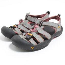 基恩KEEN戶外涼鞋US6女士24.5cm/bom8354[中古][180510]