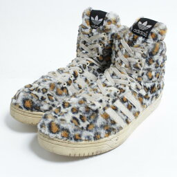 愛迪達adidas JEREMY SCOTT LEOPARD杰勒米司格運動鞋US10人28.0cm/bom8018