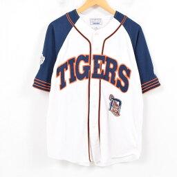 啟動器Starter MLB DETROIT TIGERS底特律老虎棒球襯衫人M/war9866