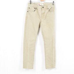 李維斯Levis 511緊身的牛仔褲彩色牛仔褲女士L(w30)/war9982[中古][180518]