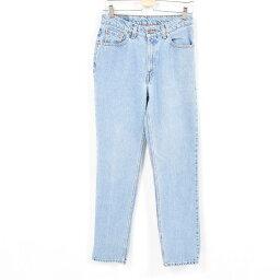 90年代李維斯Levis 512 SLIM FIT STRAIGHT LEG牛仔褲牛仔褲女士L(w29)/war9991