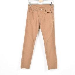 李維斯Levis 511緊身的牛仔褲彩色牛仔褲女士XL(w31)/war9992[中古][180518]