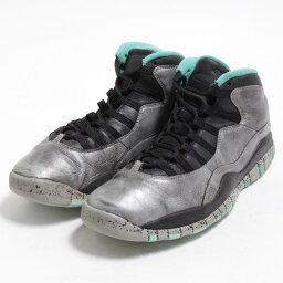 耐吉NIKE AIR JORDAN 10 RETRO 30TH LADY LIBERTY運動鞋US11人29.0cm/bom7634[中古][180518]