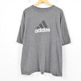 アディダス adidas ロゴTシャツ メンズXXL /was1133 【中古】【古着屋JAM】 【180527】【SS1906】【SS1907】